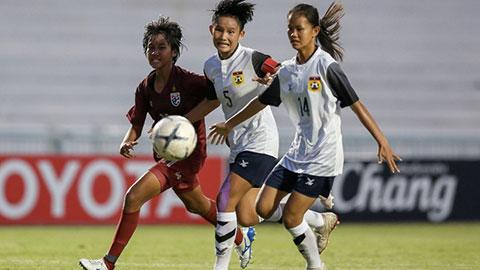 Lào thắng trận lịch sử, đẩy Việt Nam gặp Thái Lan ở bán kết U15 nữ ĐNA