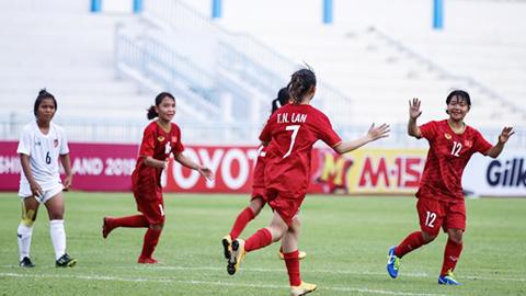 Bán kết U15 nữ Đông Nam Á 2019: Thách thức cho Việt Nam