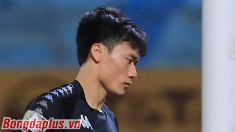 Bùi Tiến Dũng thừa nhận chẳng thể hiện được gì ở trận ra mắt Hà Nội FC