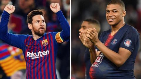 Mbappe đe dọa Chiếc giày vàng của Messi (chờ ảnh)