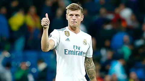 Tương lai của Kroos tại Real được làm sáng tỏ