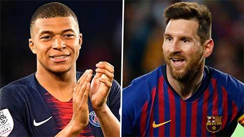 Mbappe: 'Messi là số 1 ở mọi khía cạnh'