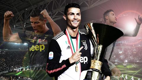 Vì sao một Ronaldo sa sút vẫn xứng đáng hay nhất Serie A?