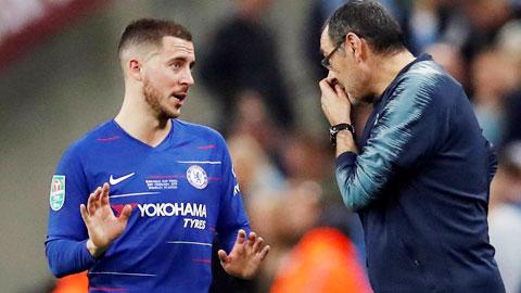 Chelsea: Hazard đi, Sarri cũng không ở lại