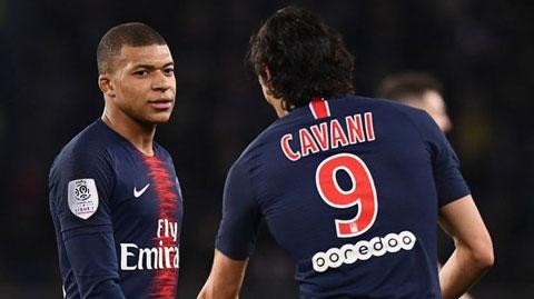 Nội bộ PSG lại dậy sóng: Cavani sẽ không nhường nhịn Mbappe