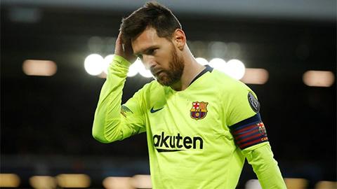 Messi: 'Tôi vẫn đang cố gắng vượt qua nỗi đau Anfield'