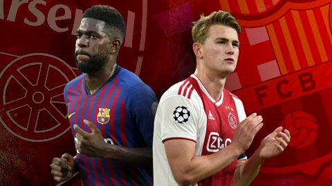 Chuyển nhượng 25/5: Barca có De Ligt, Arsenal sẽ được nhà vô địch World Cup 2018