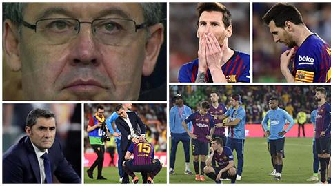 Nỗi buồn khôn tả của Barca sau thất bại trước Valencia