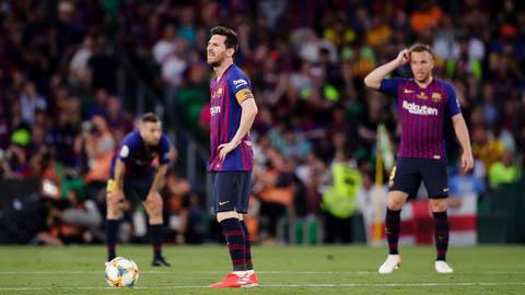 Barca vừa trải qua trận đấu tệ nhất mùa, hơn cả trận thua Liverpool