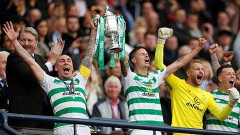 Celtic giành 'cú ăn ba' quốc nội