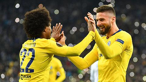 Chelsea và Arsenal thống trị đội hình xuất sắc nhất Europa League 2018/19