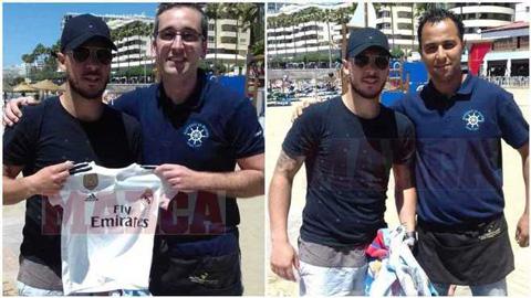 Hazard bị bắt gặp tại Tây Ban Nha, chụp ảnh giơ áo Real Madrid