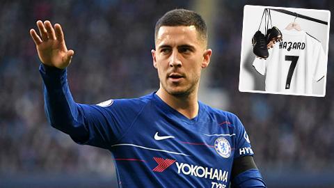 Hazard kiểu gì cũng phải nhận áo số 7 ở Real