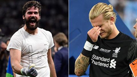 Từ Karius đến Alisson, khác biệt lớn nhất của Liverpool