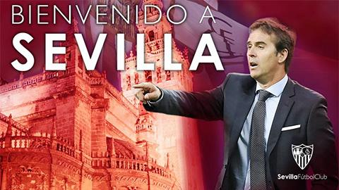 Sevilla bổ nhiệm người cũ của Real làm thuyền trưởng mới