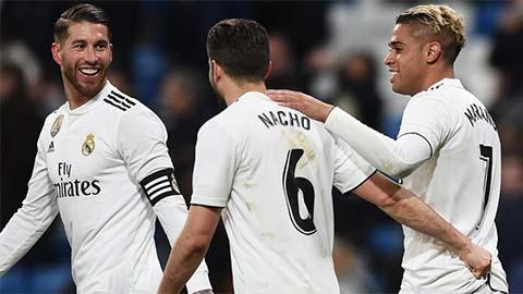 Real đứng đầu BXH của UEFA năm thứ 5 liên tiếp