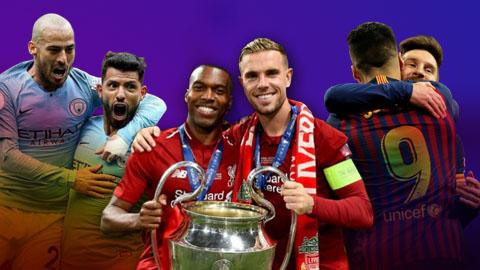 10 đội bóng xuất sắc nhất  châu Âu mùa giải 2018/19