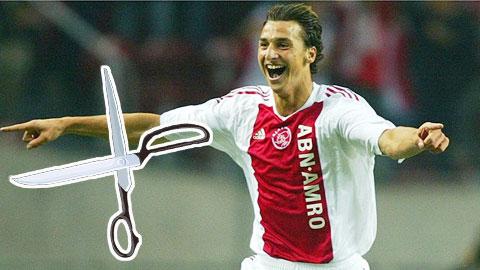 Zlatan Ibrahimovic: Đời sang trang nhờ vụ 'kéo bay sát mặt'