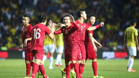 ĐT Việt Nam được thưởng 500 triệu đồng sau trận thắng Thái Lan
