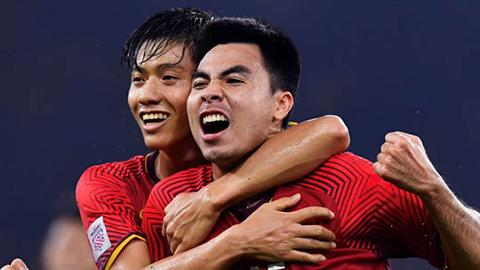 Dự đoán đội hình Việt Nam: Đức Huy đối đầu sao Ngoại hạng Anh