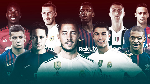 Hazard đứng đâu trong Top 10 vụ chuyển nhượng đắt nhất?