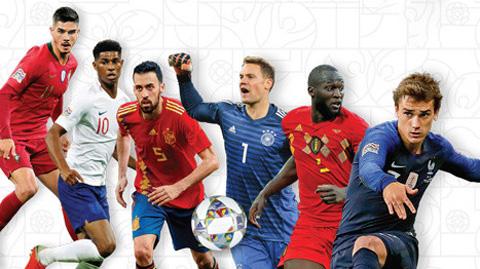 Từ Nations League đến EURO 2020: Định hình ứng viên lên đỉnh châu Âu