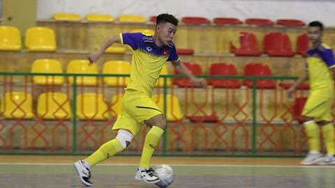 U20 futsal Việt Nam 3 lần xuyên thủng lưới nhà ĐKVĐ châu Á