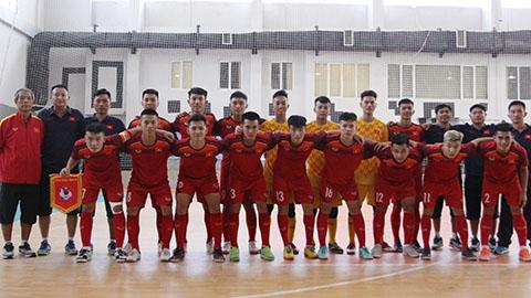 Thắng giòn giã tại Iran, U20 futsal Việt Nam sẵn sàng bước vào VCK