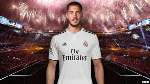 Real sẽ ra mắt Hazard hoành tráng hơn Ronaldo