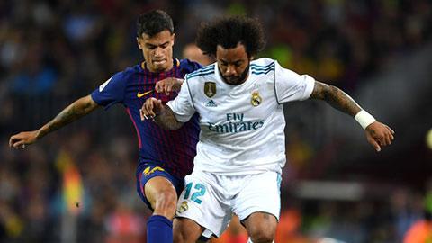 Coutinho và Marcelo rớt giá nhất năm 2019