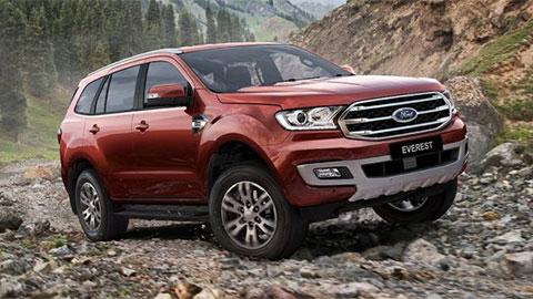 Ford Everest giảm giá hàng trăm triệu đồng 'đe nẹt' Hyundai Santa Fe 2019
