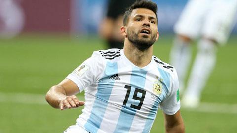 Aguero, mang cảm hứng từ Man City đến ĐT Argentina