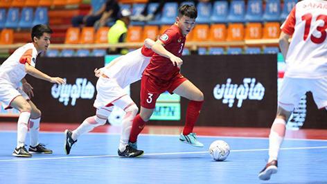 Ngược dòng ấn tượng, Việt Nam giành quyền đi tiếp ở VCK U20 futsal châu Á
