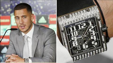 Hậu trường sân cỏ 16/6: Hazard thửa đồng hồ giá 90.000 euro