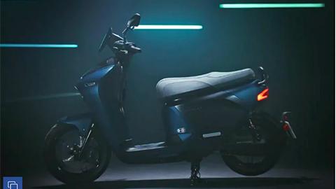 Yamaha hé lộ xe máy điện đẹp mê ly với pin có thể tháo rời