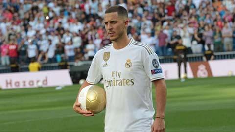 AI dự đoán Hazard ghi bàn nhiều, kiến tạo ít tại Real