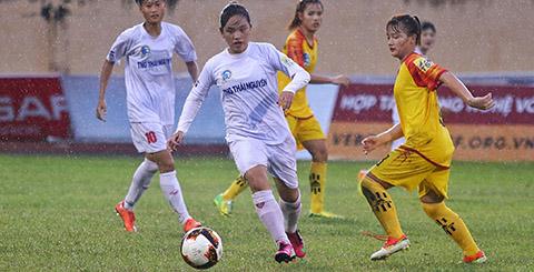Vòng 3 giải nữ VĐQG: Thái Nguyên thắng đậm, ĐKVĐ Hà Nam hòa hú vía
