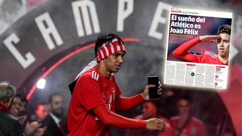 Felix có thể về Atletico với giá kỷ lục sau ngày hôm nay