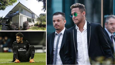 Neymar bị phong tỏa bất động sản do trốn thuế