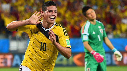 James yên tâm tỏa sáng ở Copa