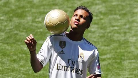 Tân binh Rodrygo của Real: 'Tôi không muốn là Neymar hay Robinho!'