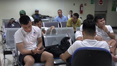 Quang Hải và đồng đội bị hành xác sau trận đấu ở AFC Cup