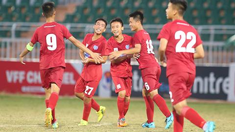 VCK U15 QG: Đánh bại SHB Đà Nẵng, Viettel vững ngôi đầu