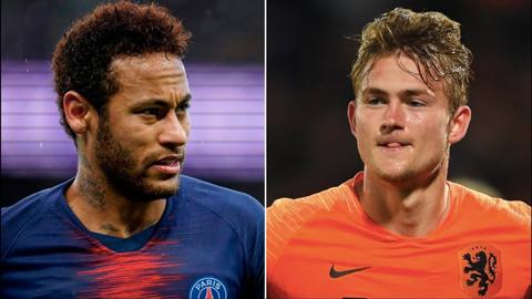 Lộ lý do Barca từ bỏ De Ligt và gặp khó vụ Neymar