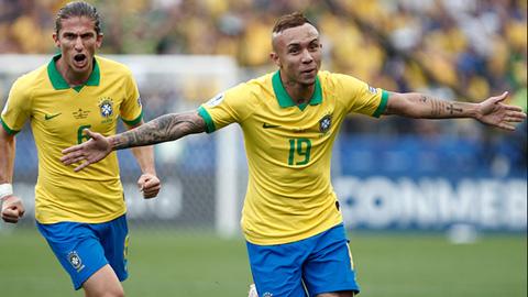 Brazil vào tứ kết: Dấu ấn 4-2-3-1 và 'kẻ thay thế Neymar'