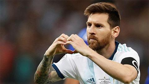 Với Messi, Copa America 2019 bây giờ mới bắt đầu