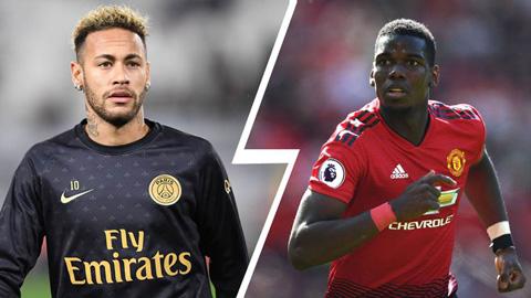 M.U từ chối đổi Pogba lấy Neymar vì 2 lý do