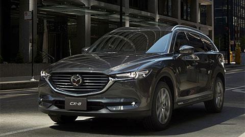 Mazda CX-8, biến thể giá rẻ của CX-9 có gì để đấu Hyundai Santa Fe 2019