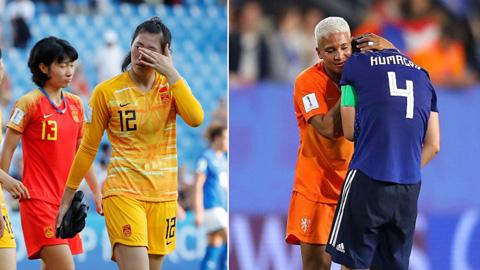 World Cup nữ 2019: Trung Quốc và Nhật Bản cùng dừng bước