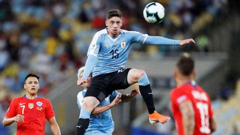 Valverde, viên ngọc quý của Uruguay